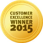 Customer Excellence Winner 2015