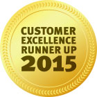 Customer Excellence RunnerUp2015