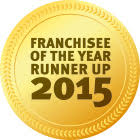 Award Franchisee Runner Up 2015 v2
