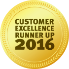 Customer Excellence Runner Up 2016 v2