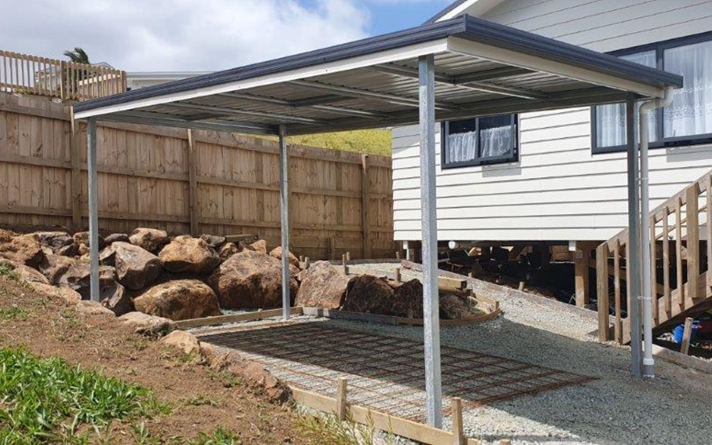 Flat Roof Carports Totalspan New Zealand