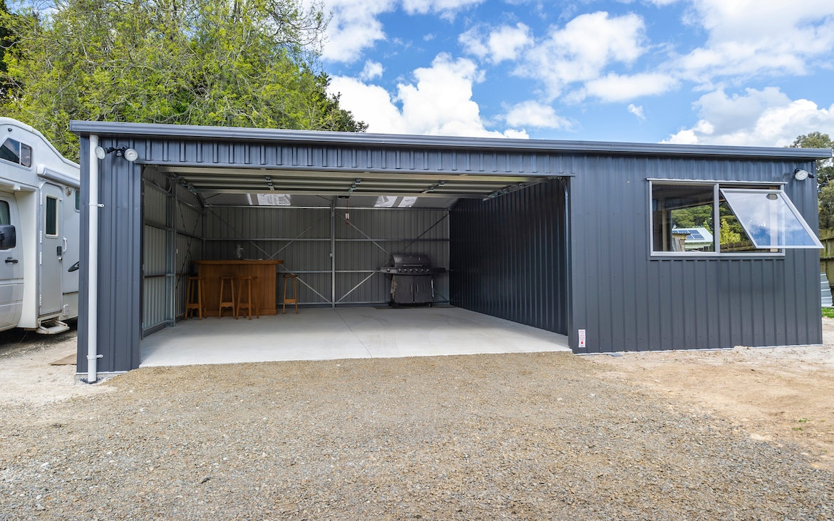Garages With Sleepouts Built For Life Totalspan New Zealand